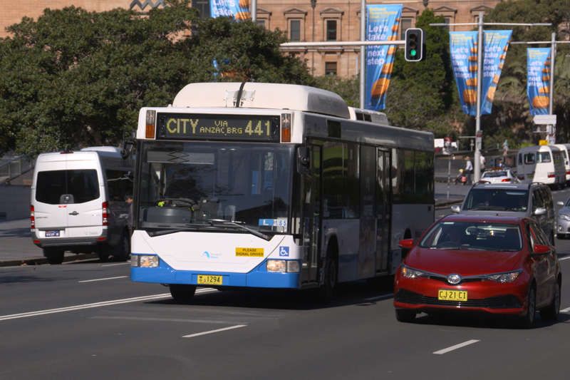 Sydney's city centre – an integrated network